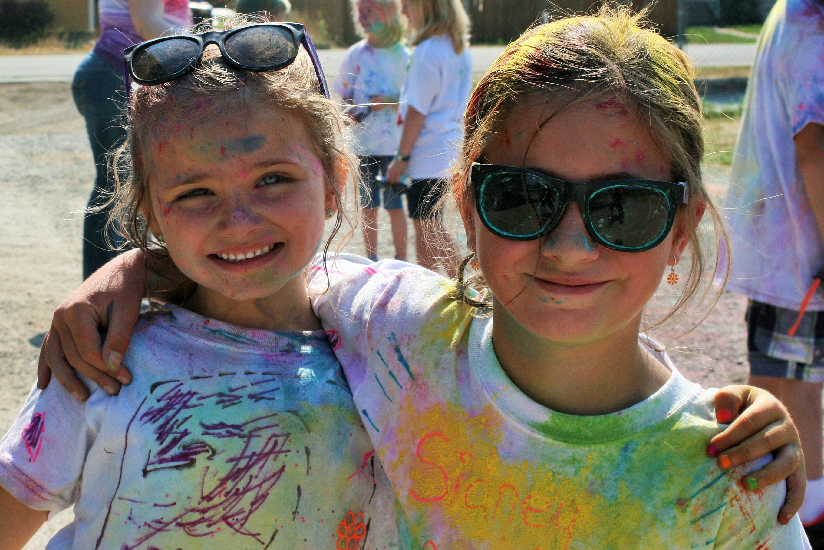Color run kids